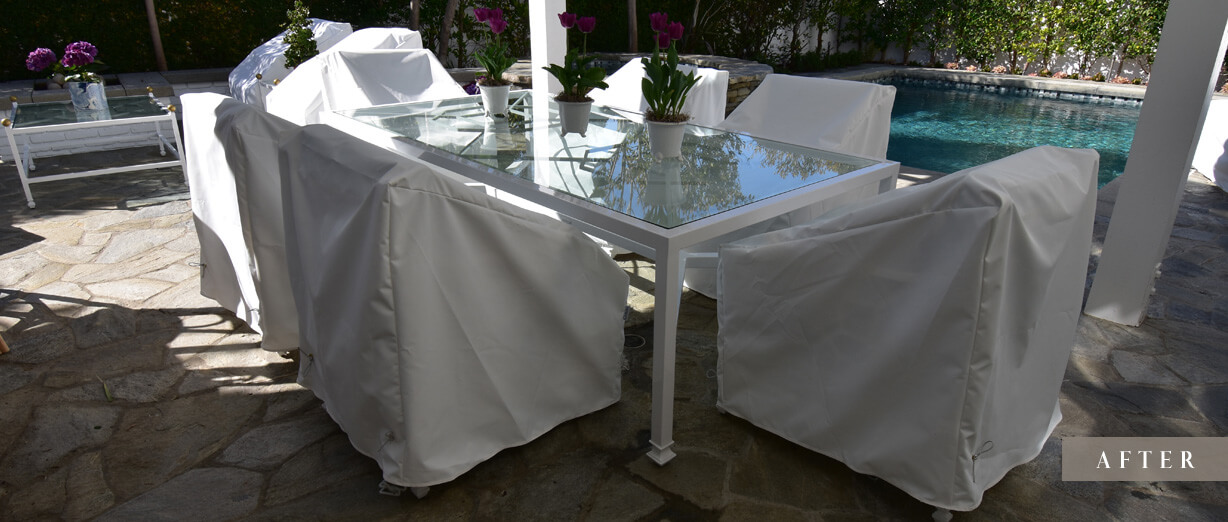 Ann Rivers Dining Set Chair Covers – After